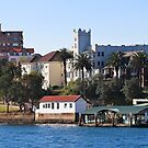 Mansions and Quays on Sydney Harbour by Stephen Mitchell