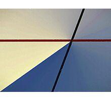 Criss Cross Photographic Print