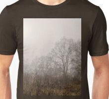 The morning mist on the edge of the forest Unisex T-Shirt