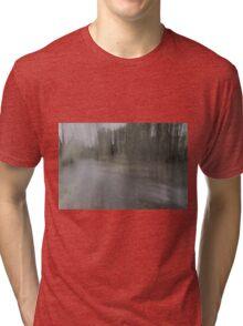 Fall Water Impression Tri-blend T-Shirt