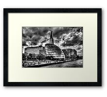 The South Bank London Framed Print