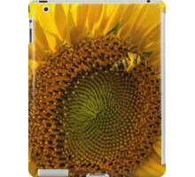 Sunflower and Bee iPad Case/Skin
