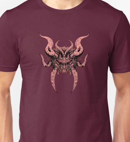 Horned DAemon. Unisex T-Shirt