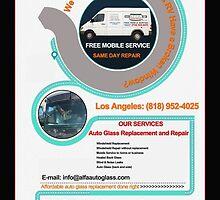 Windshield Repair Auto Los Angeles CA by alfaautoglass