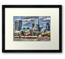 The Waverley and London Framed Print