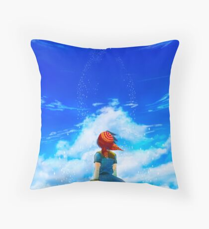 Chrono Cross: Skyward Throw Pillow
