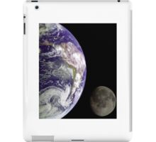Earth and Moon iPad Case/Skin
