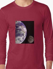 Earth and Moon Long Sleeve T-Shirt