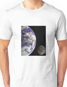 Earth and Moon Unisex T-Shirt