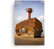 Rusting away Canvas Print