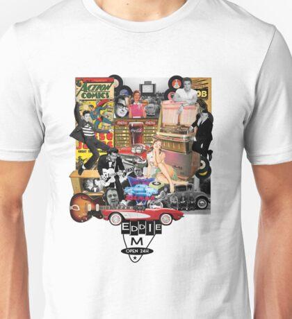 Eddie M Vintage DooWop Design Unisex T-Shirt