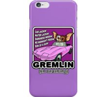Gremlins don't follow ALL the rules iPhone Case/Skin
