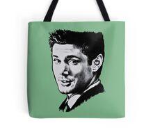 Dean Winchester in black. Tote Bag