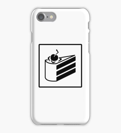 PORTAL CAKE ICON iPhone Case/Skin