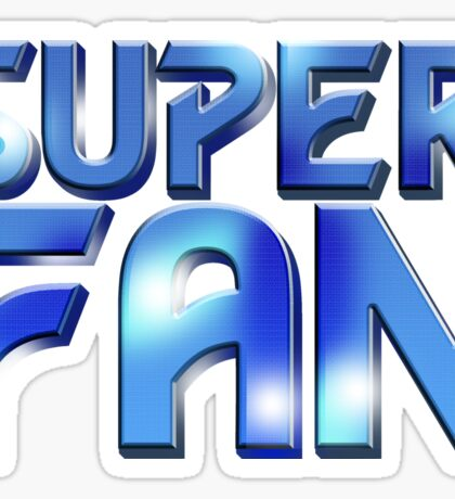 Super Fan - McGann logo Sticker