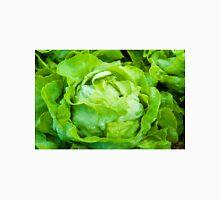 Closeup on fresh wet lettuce in the garden T-Shirt