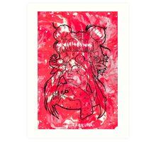 Strawberry Bloom Art Print