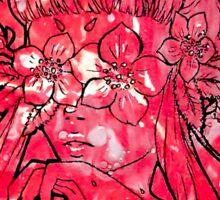 Strawberry Bloom Sticker