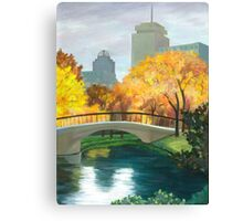 Boston Public Garden Canvas Print