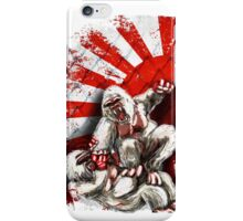 MMA fighting gorillas iPhone Case/Skin