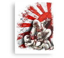 MMA fighting gorillas Metal Print