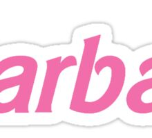Barbae Sticker