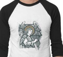 CELESTIAL HARPIST II Men's Baseball ¾ T-Shirt