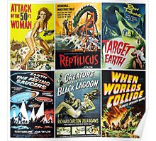 Sci-Fi Movie Poster Art Collection #1 Poster