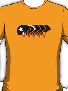 Roller Derby helmets (Black design) T-Shirt