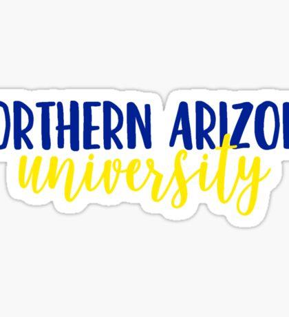 Northern Arizona University Sticker