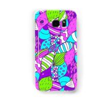 Bright psychedelic doodle Samsung Galaxy Case/Skin