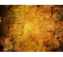 Colorful autumn leaves texture 2 Photographic Print