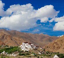 Likir Monastery by Rahul Kinikar