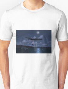 Hopgoods attack run on the Mohne Dam Unisex T-Shirt