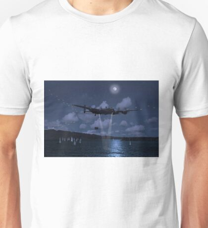 Hopgoods attack run on the Mohne Dam Unisex T-Shirt