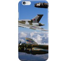 Avro Vulcan and Lancasters iPhone Case/Skin