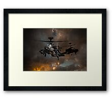 Apache Storm UK Army Helicopter Framed Print