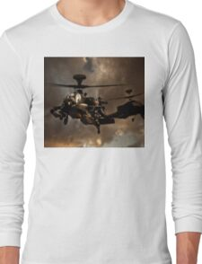 Apache Storm UK Army Helicopter Long Sleeve T-Shirt