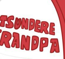 Tsundere Grandpa Sticker