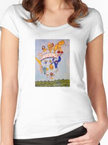 """""""Loose Canon"""" Women's Fitted Scoop T-Shirt"""