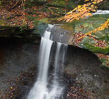 Ohio's Blue Hen Falls at Cuyahoga Valley NP by Kenneth Keifer