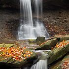 Blue Hen Falls, Cuyahoga Valley National Park by Kenneth Keifer