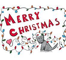 Jack - Merry Christmas Lights by Beth A.  Richardson