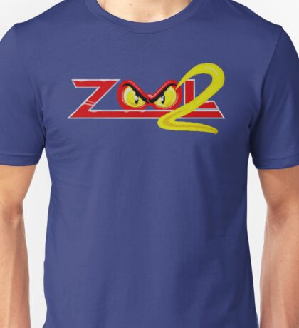 Zool 2 (Amiga Title Screen) Unisex T-Shirt