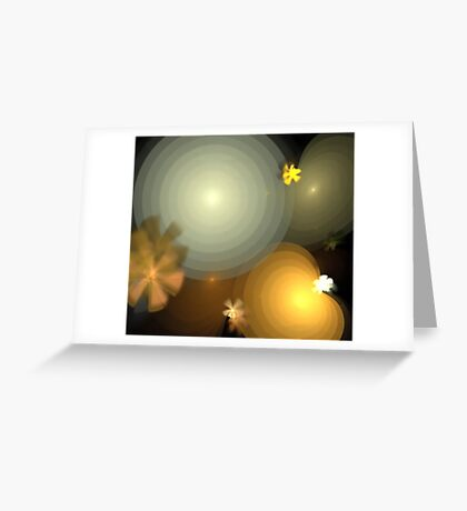 Earth Suns Greeting Card
