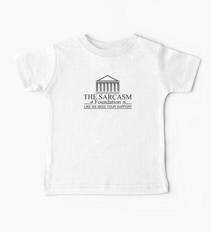 The Sarcasm Foundation - Fundacion del Sarcasmo Baby Tee