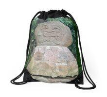 Colombia - San Agustin - 30 Rock Stone God Drawstring Bag