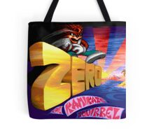 Zero The Kamikaze Squirrel (Genesis Title Screen) Tote Bag
