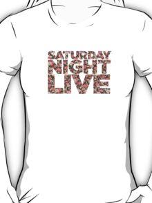 Vintage Floral SNL T-Shirt