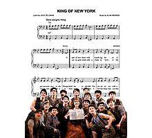 King of New York - Newsies Photographic Print